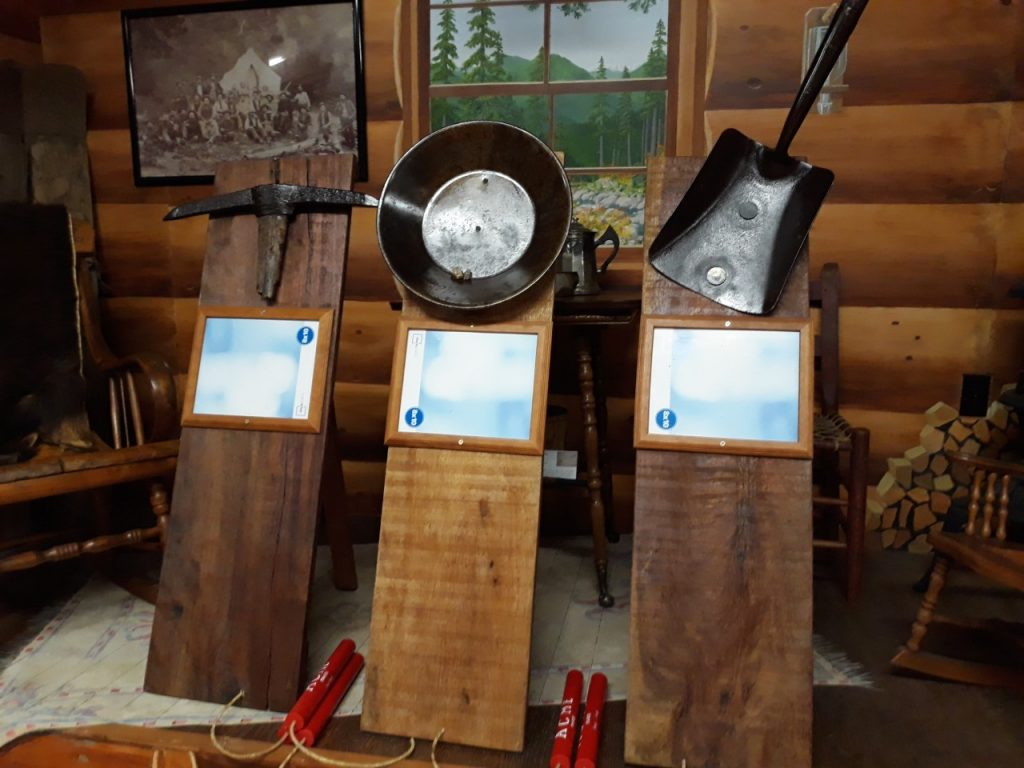 Perpetual Awards Designed by Dick Secord displayed at Bohemia Gold Mining Museum